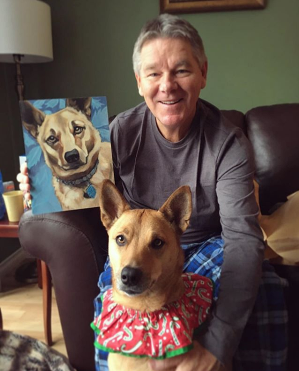 Holiday Pet Portrait Surprises!